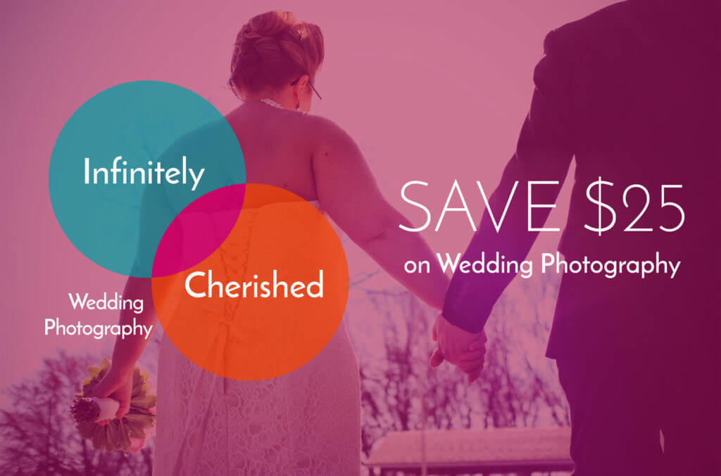 Save $25 on Wedding Photography
